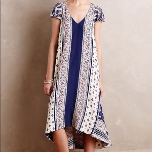 Anthropologie Maeve High Low Dress